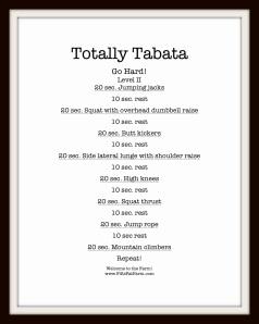 Totally Tabata