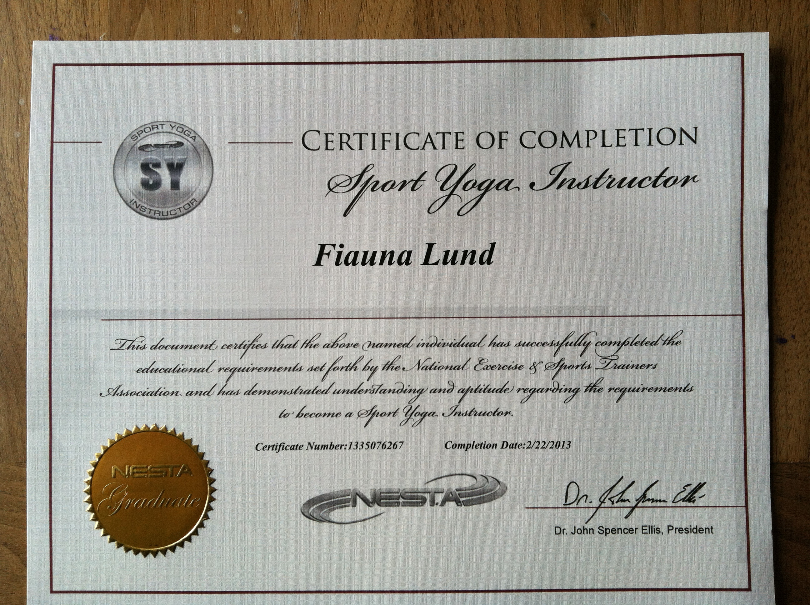 Fitness tools fifis fit farm i completed my sport yoga certification why sport yoga as apposed to traditional yoga well because sport yoga incorporates my other love pilates love xflitez Choice Image
