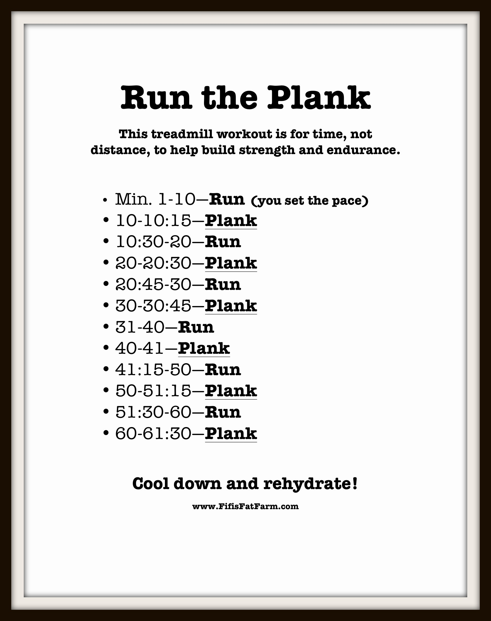 how to build up endurance